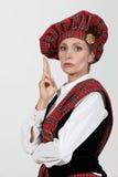 Scottish costume Stock Images