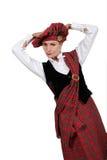 Scottish costume Royalty Free Stock Photo