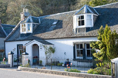 Scottish cottage Royalty Free Stock Image