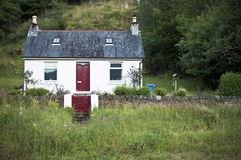 Scottish cottage stock images