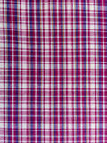 Scottish cotton Fabric - pattern Royalty Free Stock Images