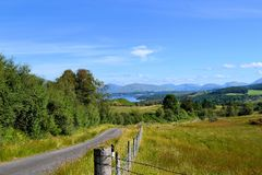 Scottish Countryside. This is a lovely photo of the beautiful Scottish countryside Royalty Free Stock Photo