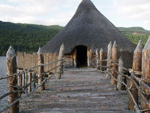 Scottish Crannog Centre, Loch Tay, Perthshire Stock Photo