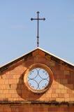 Scottish cross. Royalty Free Stock Photo