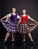 Scottish dance Royalty Free Stock Photography