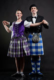 Scottish dance Royalty Free Stock Images