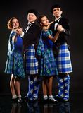 Scottish dance Stock Photo