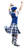 Scottish Dancer royalty free stock photos