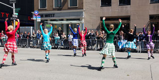 Scottish Day Parade Royalty Free Stock Images