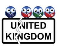 Scottish devolution. Representation of Scottish proposed devolution from the United Kingdom Royalty Free Stock Image