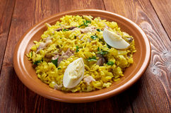 Scottish dish - Kedgeree Royalty Free Stock Images