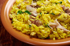 Scottish dish - Kedgeree Stock Image