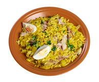 Scottish dish - Kedgeree Royalty Free Stock Image