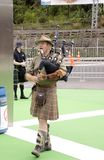 Scottish Drummers and Bagpipers ICC CWC 2015 Stock Photos