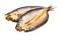 Scottish Dyed Smoked Kipper Fillets Stock Image