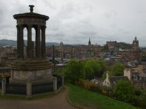 Scottish Edinburgh. Royalty Free Stock Photography
