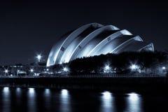 Scottish Exhibition & Conference Centre. Scottish Exhibition and Conference Centre at night Stock Image