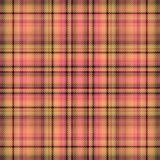 Scottish fabric pattern and plaid tartan,  material check. Scottish fabric pattern and plaid tartan texture for background,  material check stock illustration