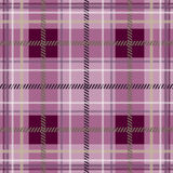 Scottish fabric in a pink cage . Stock Images