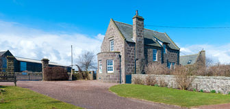 Scottish farmhouse Royalty Free Stock Photo