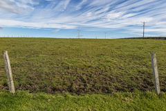 Scottish field. A scottish field in the orkney islands Royalty Free Stock Image