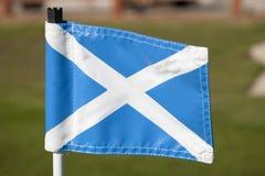 Scottish Flag Royalty Free Stock Photo