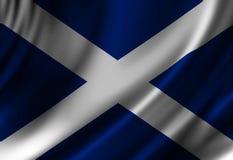Scottish flag Royalty Free Stock Image