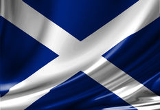 Scottish flag Stock Images
