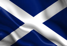 Scottish flag Stock Image