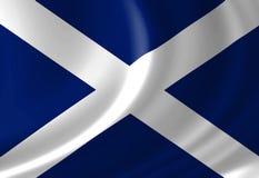 Scottish flag Royalty Free Stock Photos
