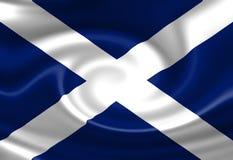 Scottish flag Royalty Free Stock Photography