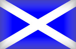 Scottish Flag Royalty Free Stock Image