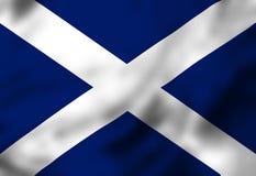 Scottish flag Stock Photography