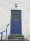 Scottish front door Royalty Free Stock Photography