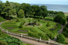 Scottish Garden. Scottish architectural garden Royalty Free Stock Image