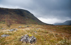 Scottish Glen next to Fort William, Scotland Royalty Free Stock Image