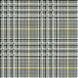 Scottish glen plaid pattern Stock Photo