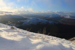 Scottish grampian mountains Royalty Free Stock Image