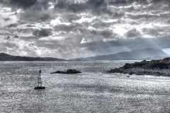 Scottish HDR Seascape Royalty Free Stock Photos