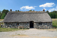 Scottish highland cottage Royalty Free Stock Image