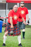Scottish highland games august – winnipeg mb canada manitoba association of celtic sports organized heavy during folklorama Royalty Free Stock Images
