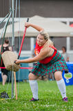 Scottish highland games Stock Image