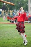 Scottish highland games Stock Photography