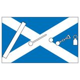 Scottish Highland games events stock illustration