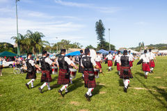 Scottish Highland Gathering Royalty Free Stock Photography