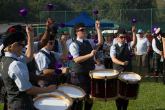 Scottish Highland Gathering Stock Photo