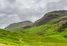 Scottish Highlands. Beautiful Scottish countryside in the Highlands stock photos