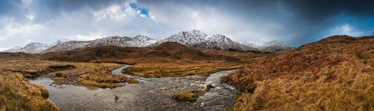 Scottish highlands, dramatic sky Stock Images