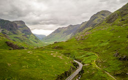 The Scottish Highlands Royalty Free Stock Photo