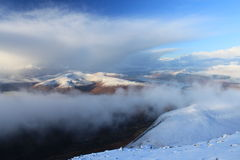 View from Mount Ben Nevis, Scotland Stock Image